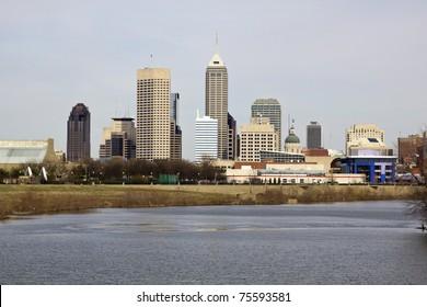 City of Indianapolis. Indiana, USA.