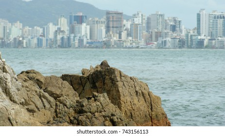 City of Itapema, the coastal city of Brazil