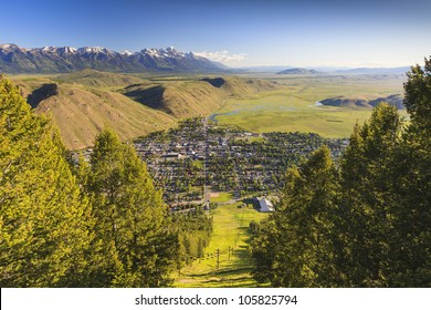 The city of Jackson Hole