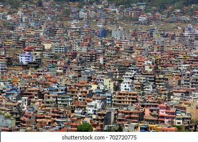 The city of Kathmandu, Nepal