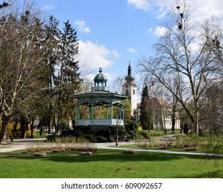 City of Koprivnica - Panorama - Pavilion in City Park