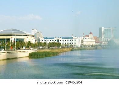 The city lake Kaban in Kazan