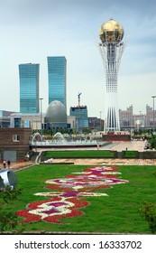 City landscape. Astana, Kazakhstan, july 2008
