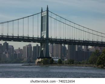 City Landscape Bridge over the River