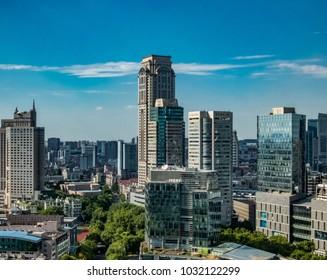 City landscape image