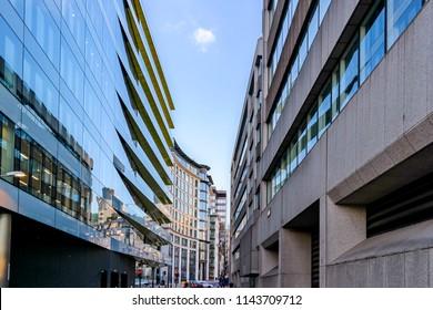City landscape in London