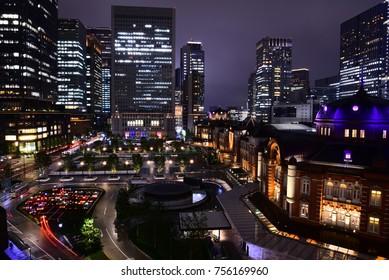 City Lights of Tokyo