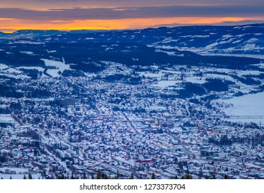 City of Lillehammer in Norway