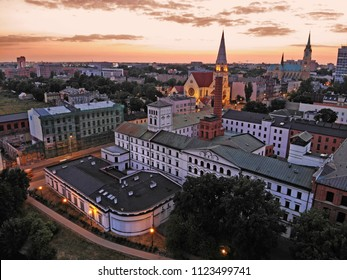 City of Lodz, Poland. View of the White Factory.