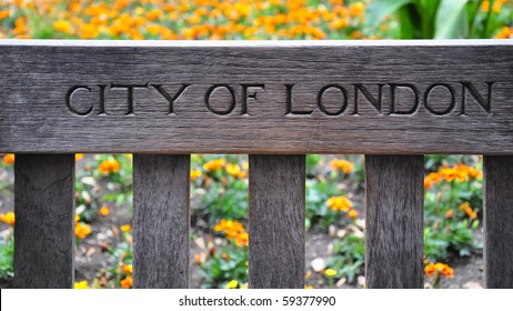 City of London, Bench