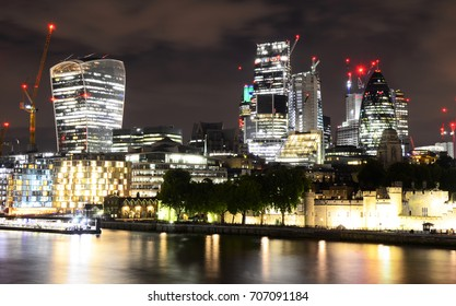 City of London Modern Architecture - August 2017 - London, England