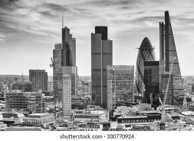 City of London one of the leading centers of global finance.