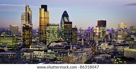 City of London one