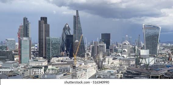 City of London skyline, England, UK
