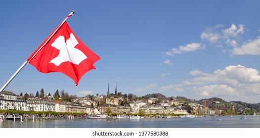 City of lucerne, switzerland