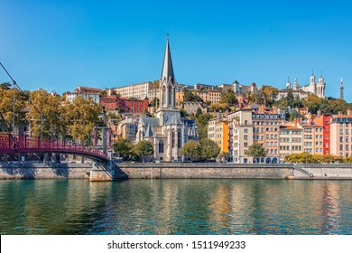 City of Lyon in daytime