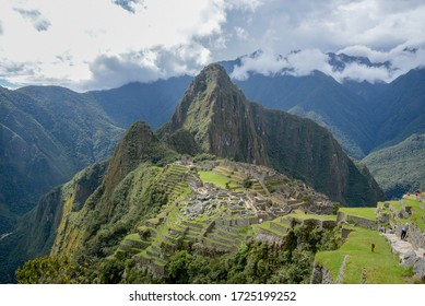 The city of Machu Picchu, Peru