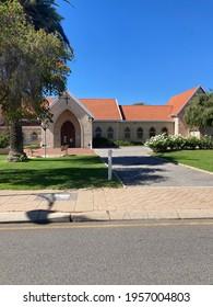 City of Mandurah, Perth, Western Australia - April 10th 2021 : Christ's Church Anglican Parish Of Mandurah. Serving the Mandurah community with love.