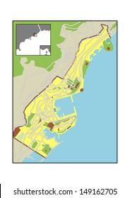 Map Of Monaco Images Stock Photos Vectors Shutterstock