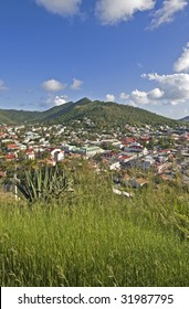 the city of marigot on St Martin ( French West Indies)