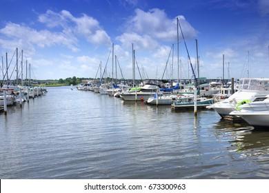 City Marine View, New Bern, North Carolina, USA