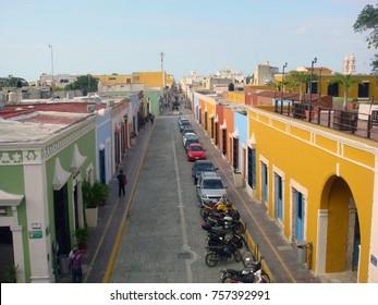 The city of Merida, Mexico.