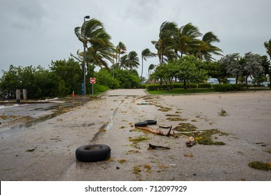 City of Miami Beach, hurricane Irma. Florida. USA.