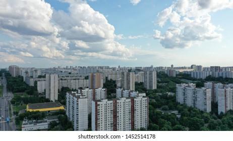 city moskow building beaty sky the clouds skyline street landmark nature outdoor tree green grass summer best landskape