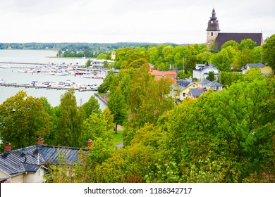 City of Naantali, a town in south-western Finland, known as one of the most important tourist centres of the country.