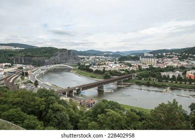 City of ��st� nad Labem, Czech Republic, North Bohemia