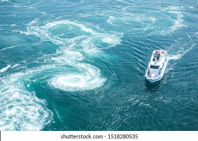 """The city of Naruto is synonymous with """"whirlpools"""". This natural tidal phenomenon never ceases to amaze visitors."""