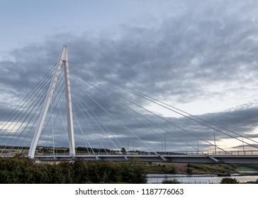 City of Sunderland's new bridge, the northern spire opened in 2018