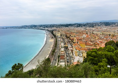 The city of Nice, France