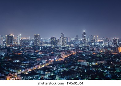 City at night
