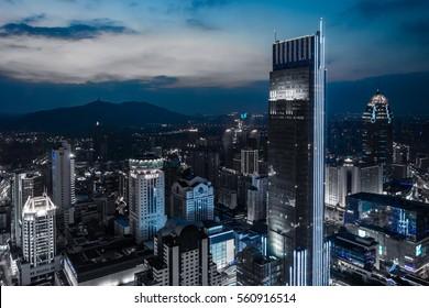 The city night