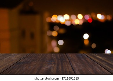 city night light bokeh defocused blurred background abstract