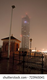 The city night light of Manchester