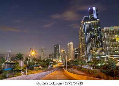 Panamá City Night Lights