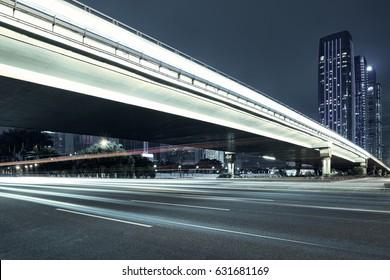 city night scenes at shenzhen,china - Shutterstock ID 631681169