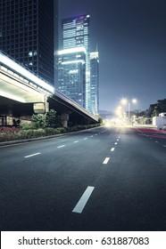 city night scenes at shenzhen,china - Shutterstock ID 631887083