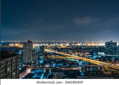 City night view shot