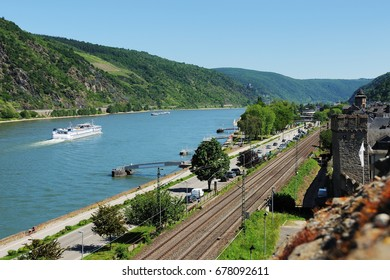 City Oberwesel in the World Heritage Middle Rhine Valley