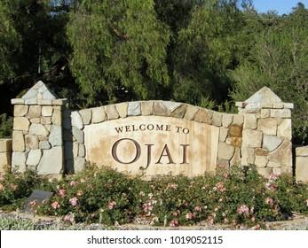City of Ojai sign