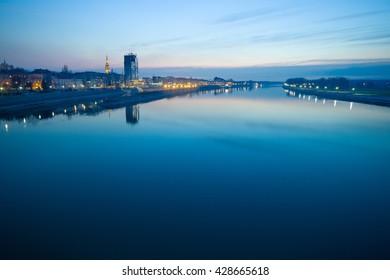 City of Osijek in Croatia
