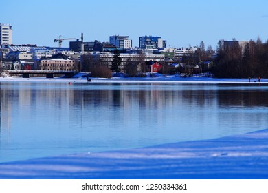 City of Oulu, river landscape