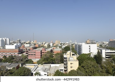 city panoramic barranquilla Colombia