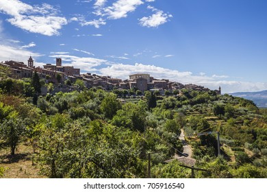 City of Pieve, an ancient medieval town in the province of Perugia, Italy.