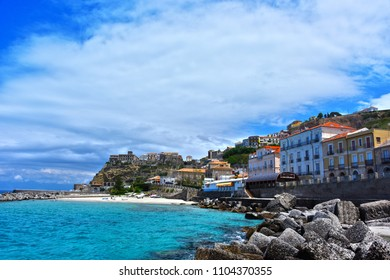 The city of Pizzo Calabro in the Province of Vibo Valentia, Calabria, Italy.
