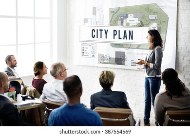 City Plan Municipality Community Town Management Concept