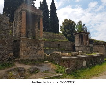 The city of Pompeii - Southern Italy